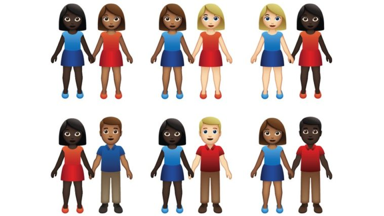 71 interracial couple emojis have been given the green-light 13