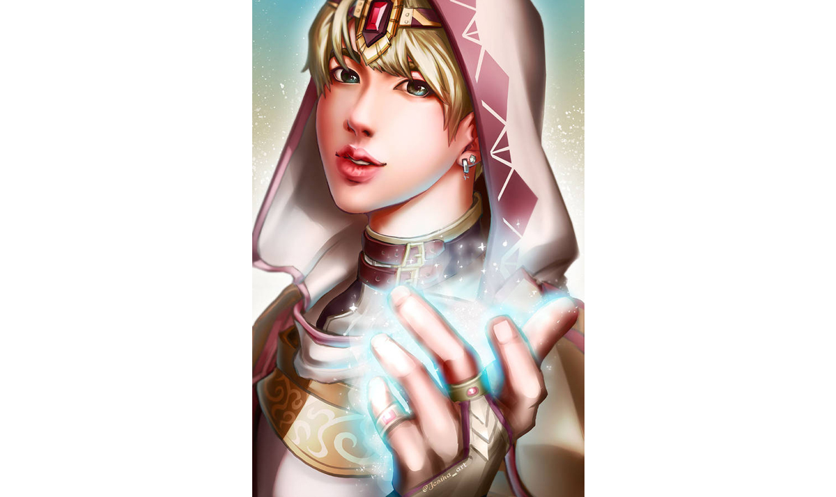 Jin as a cleric