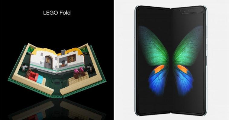 LEGO Fold vs Samsung Galaxy Fold