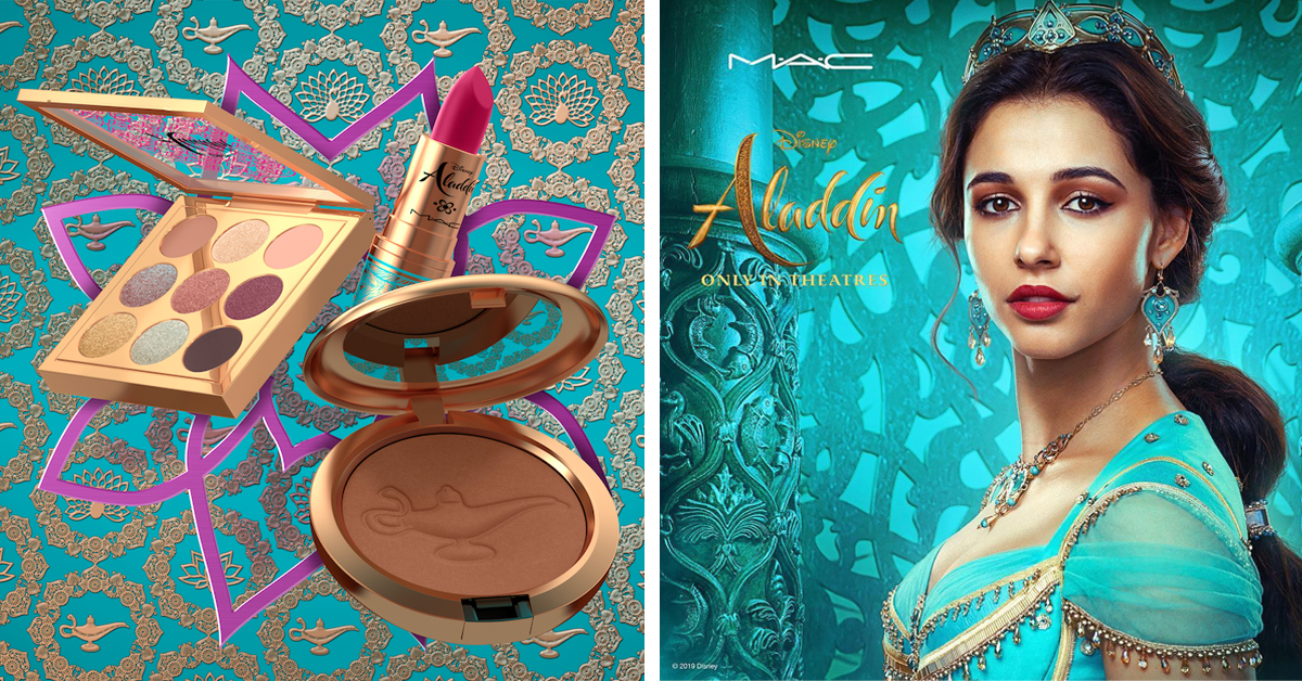 Aladdin Inspired Makeup Collection