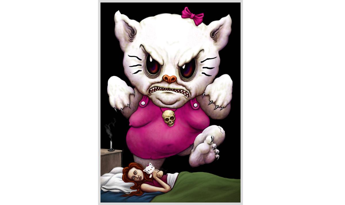 Monster Hello Kitty
