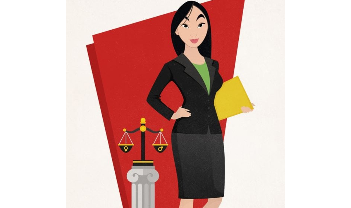 mulan as a title ix lawyer - Disney Princesses as modern day career women