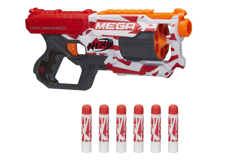 nerf mega cycloneshock oop - NERF unveils new blasters during the largest ever blaster battle event