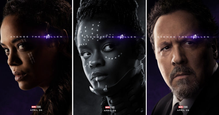 New Avengers Endgame character posters