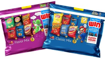 nintendo frito lay 364x205 - Nintendo is giving away over 1,300 Switch consoles with Frito-Lays