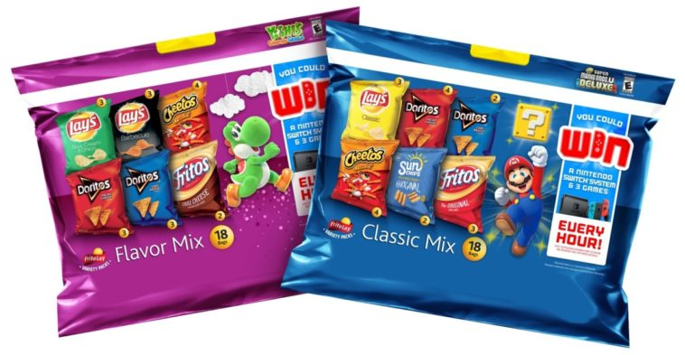 Nintendo is giving away over 1,300 Switch consoles with Frito-Lays 12