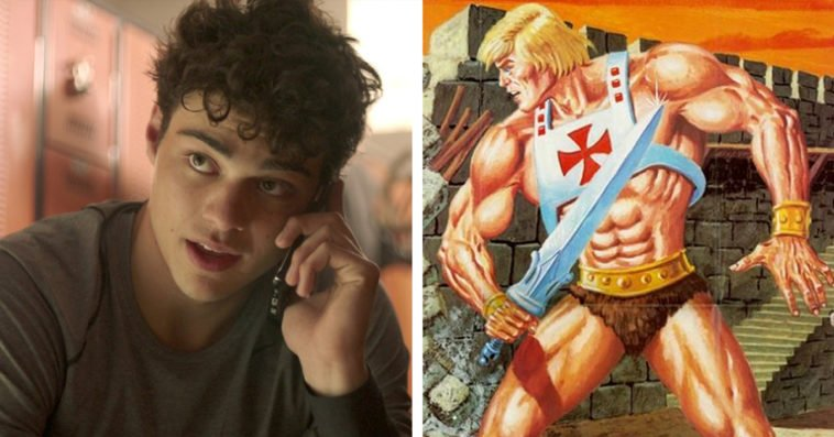 Noah Centineo and He-Man