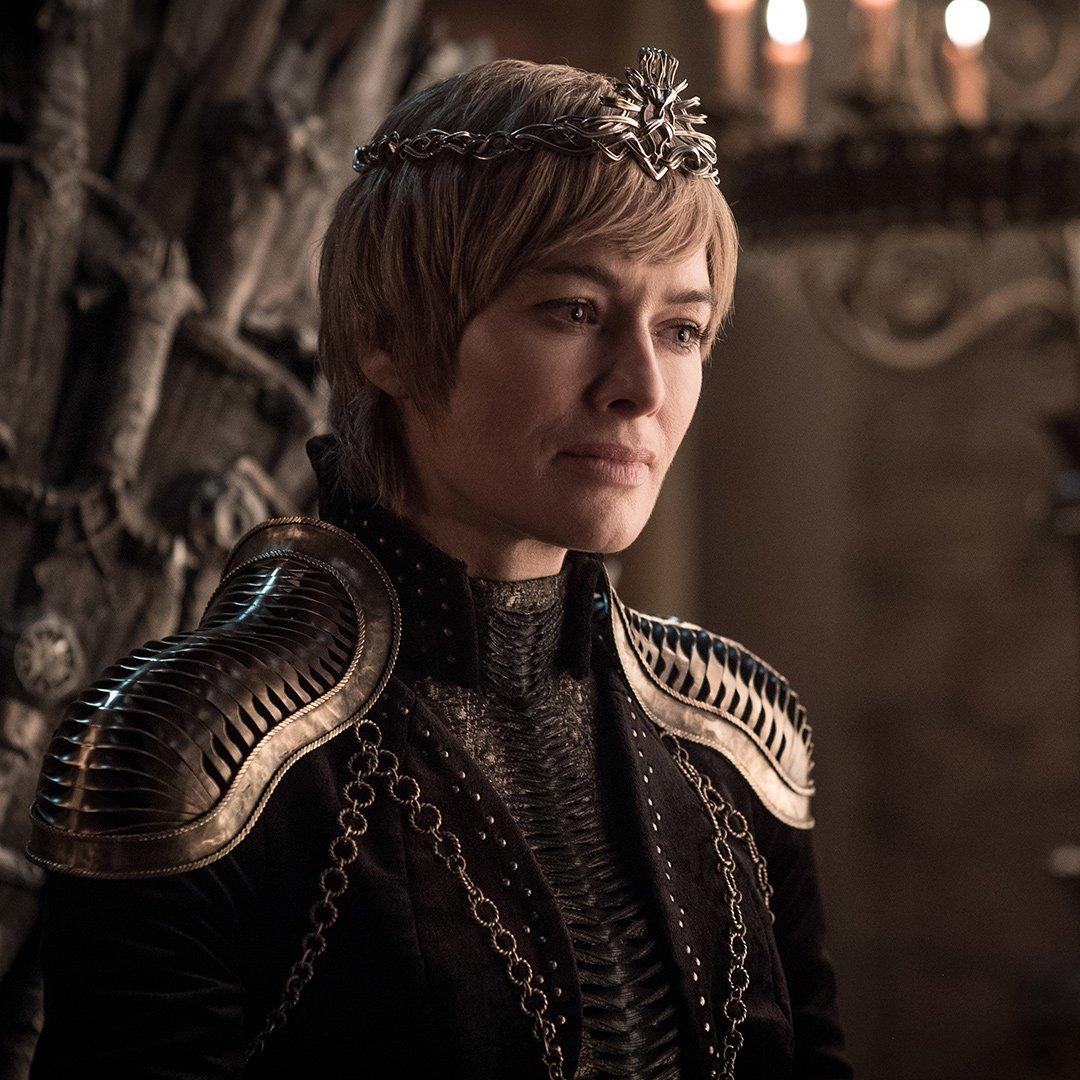 Lena Headey as Cersei in Game of Thrones Season 8