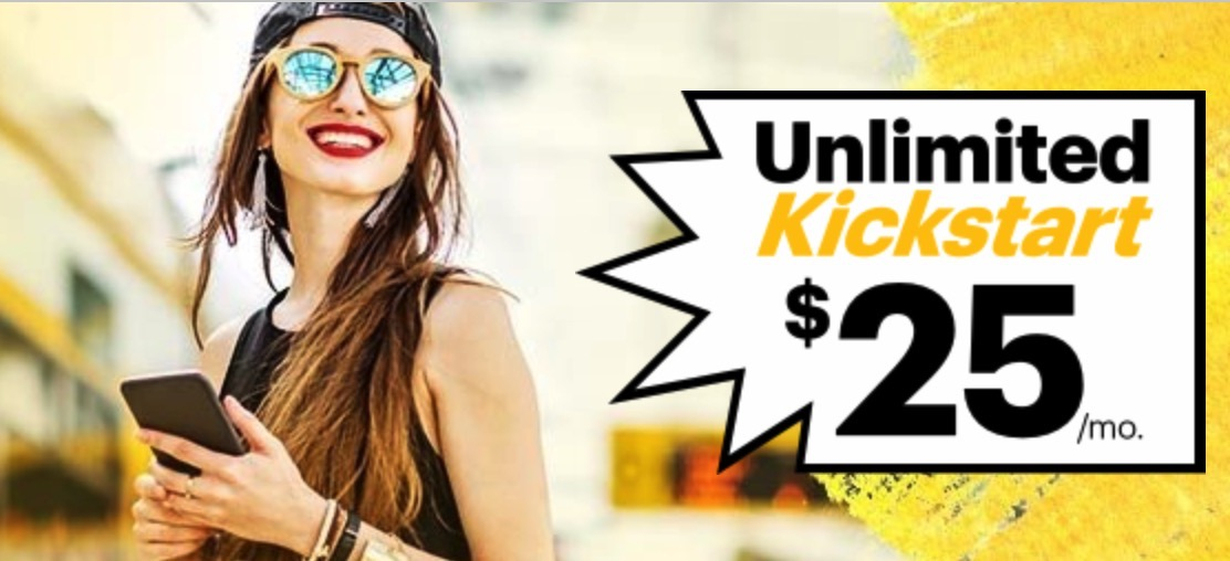 sprint unlimited kickstart 364x205 - Sprint's $25 unlimited monthly plan is back for a limited time