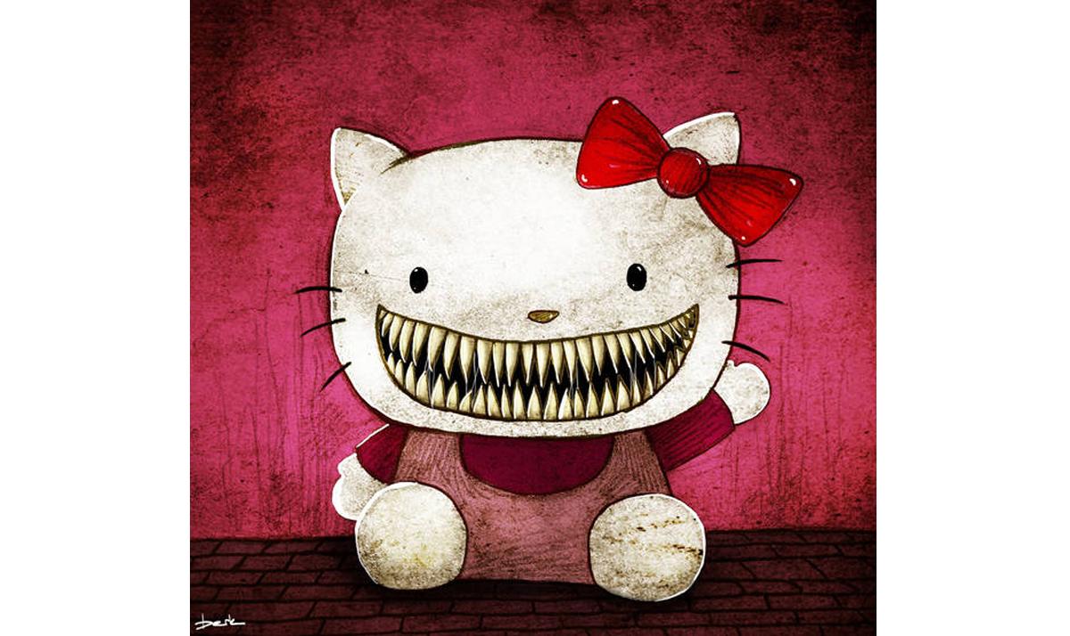 Toothy Hello Kitty