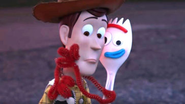 Toy Story 4's Woody and Forky
