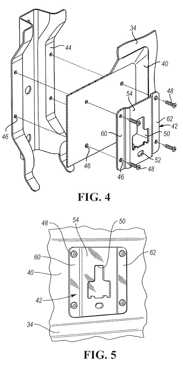 Ford's Portable Entertainment Support System for a Pickup Truck Box