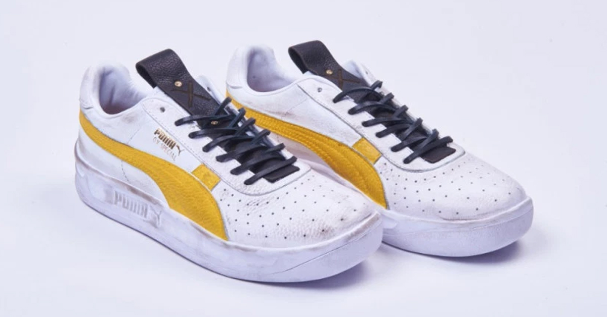 The Walking Dead x Puma shoes