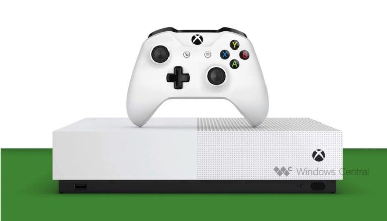 A disc-less Xbox One S is coming in May 11