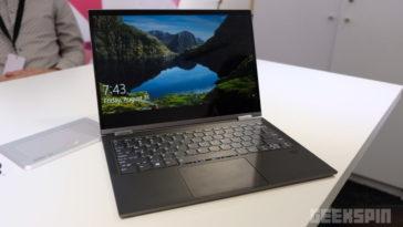 Win the Lenovo Yoga C930 2-in-1 laptop for Spring 15