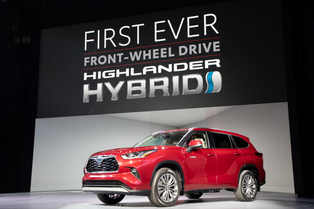 Toyota introduces their 2020 Highlander SUV 13