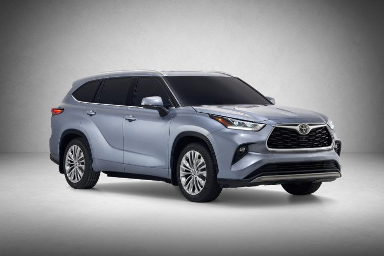 Toyota introduces their 2020 Highlander SUV 12