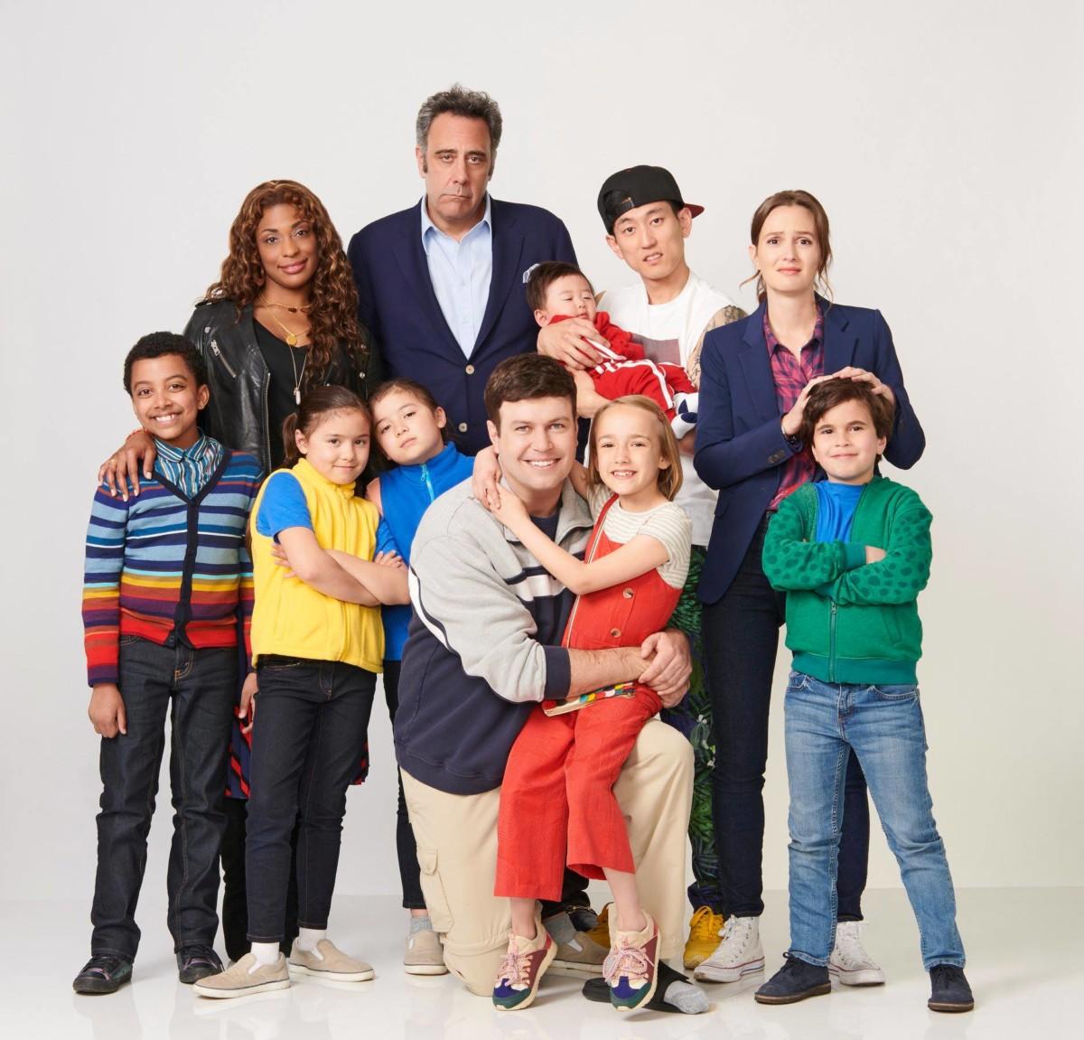 The cast of Single Parents