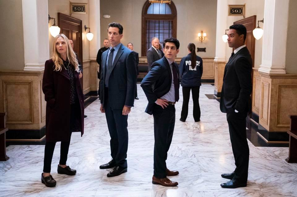 The cast of For the People