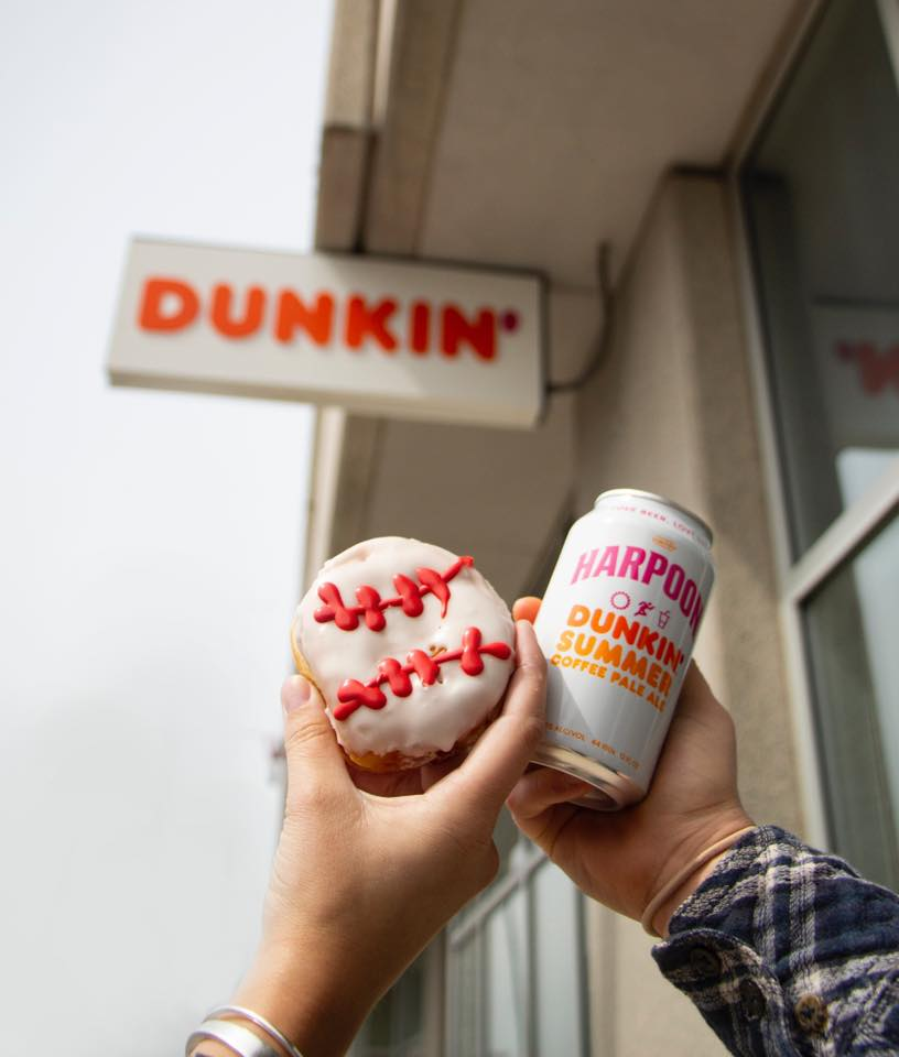 Harpoon Dunkin' Summer Coffee Pale Ale