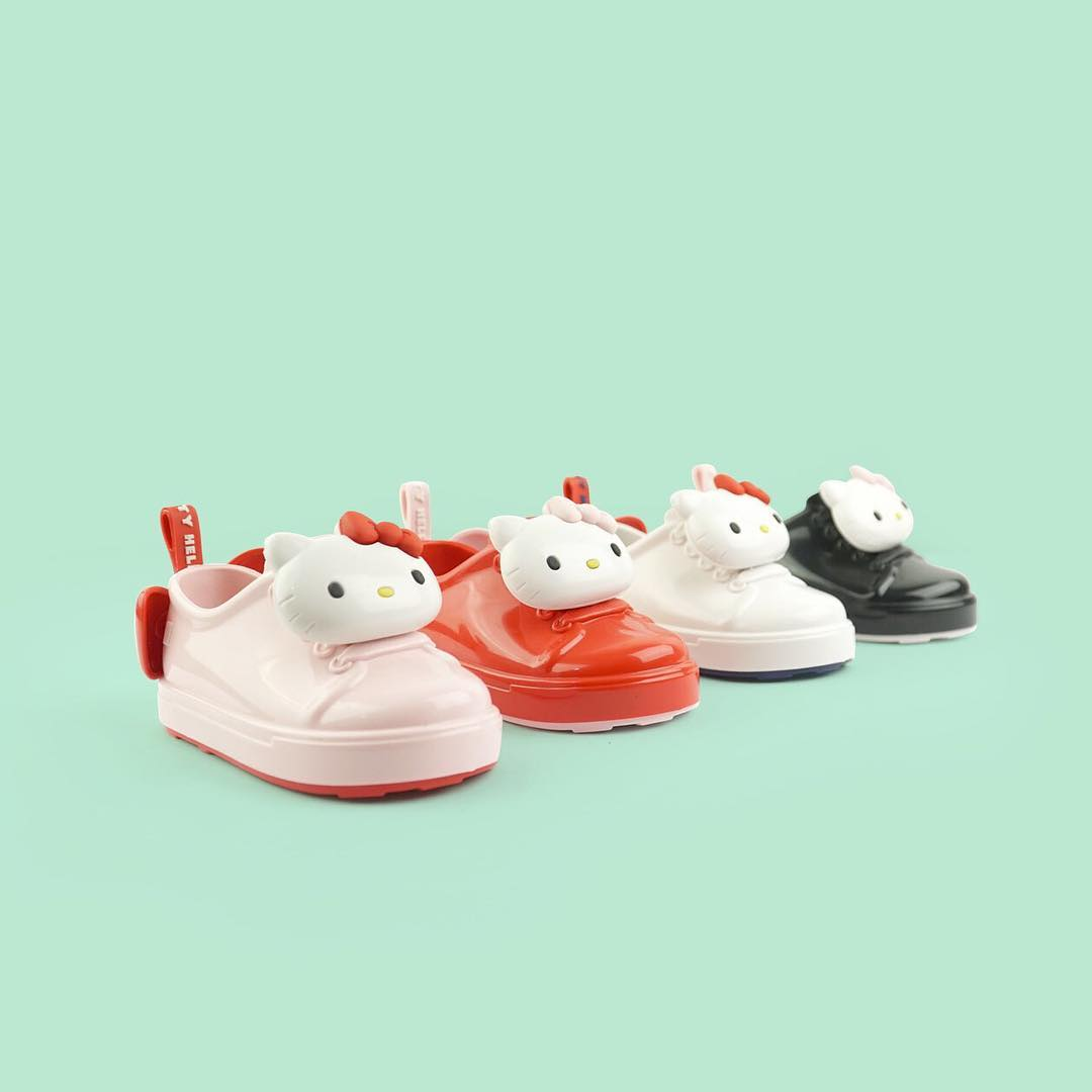 Hello Kitty x Melissa Toddlers Be Sneaker