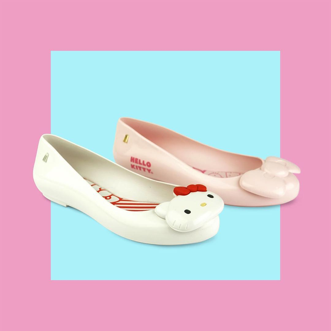 Hello Kitty x Melissa Space Love Flat and Bow Space Love Flat