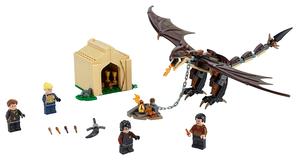 LEGO Harry Potter Hungarian Horntail Triwizard Challenge set