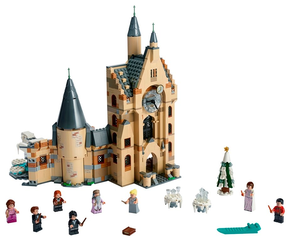 LEGO Harry Potter Hogwarts Clock Tower set