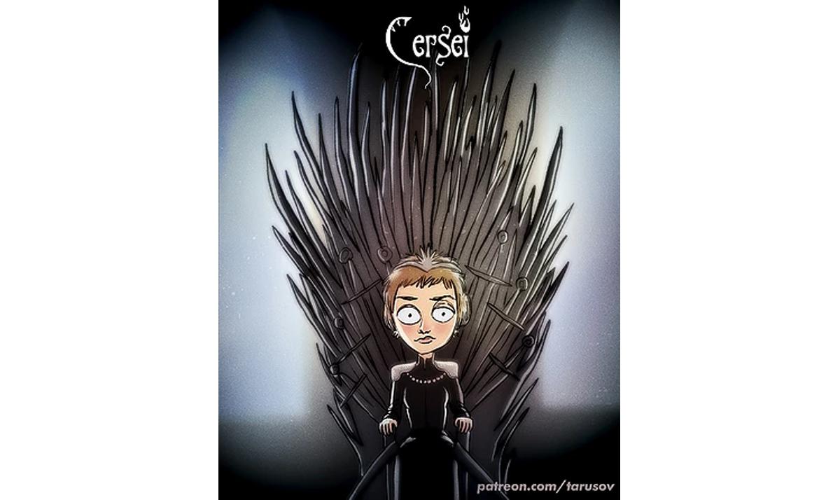 burtonesque cersei - Game of Thrones characters gone wild