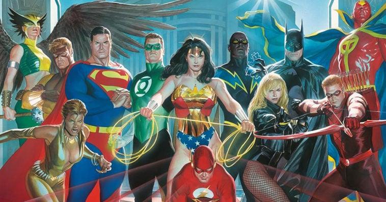 DC comic book characters