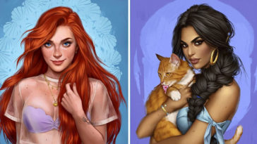 How Disney Princesses Would Look If They Lived in 2020 19