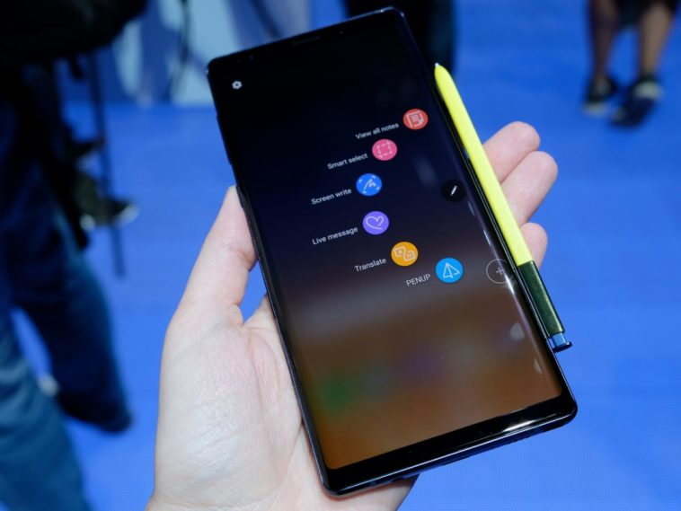 Samsung is working on four distinct versions of the Note 10 12