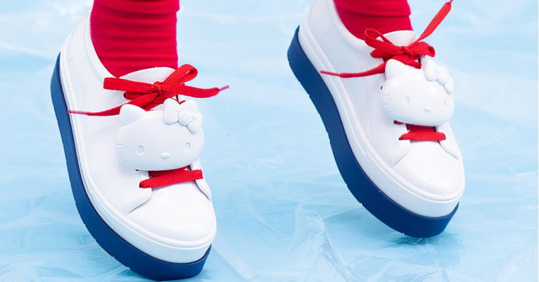 Hello Kitty x Melissa Shoes Be Sneaker