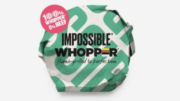 impossible whopper 364x205 - Burger King will start serving a veggie-based Impossible Whopper