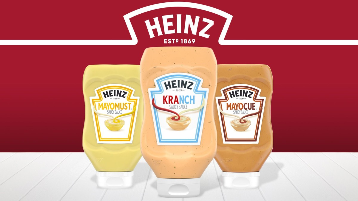 Heinz Saucy Sauce collection