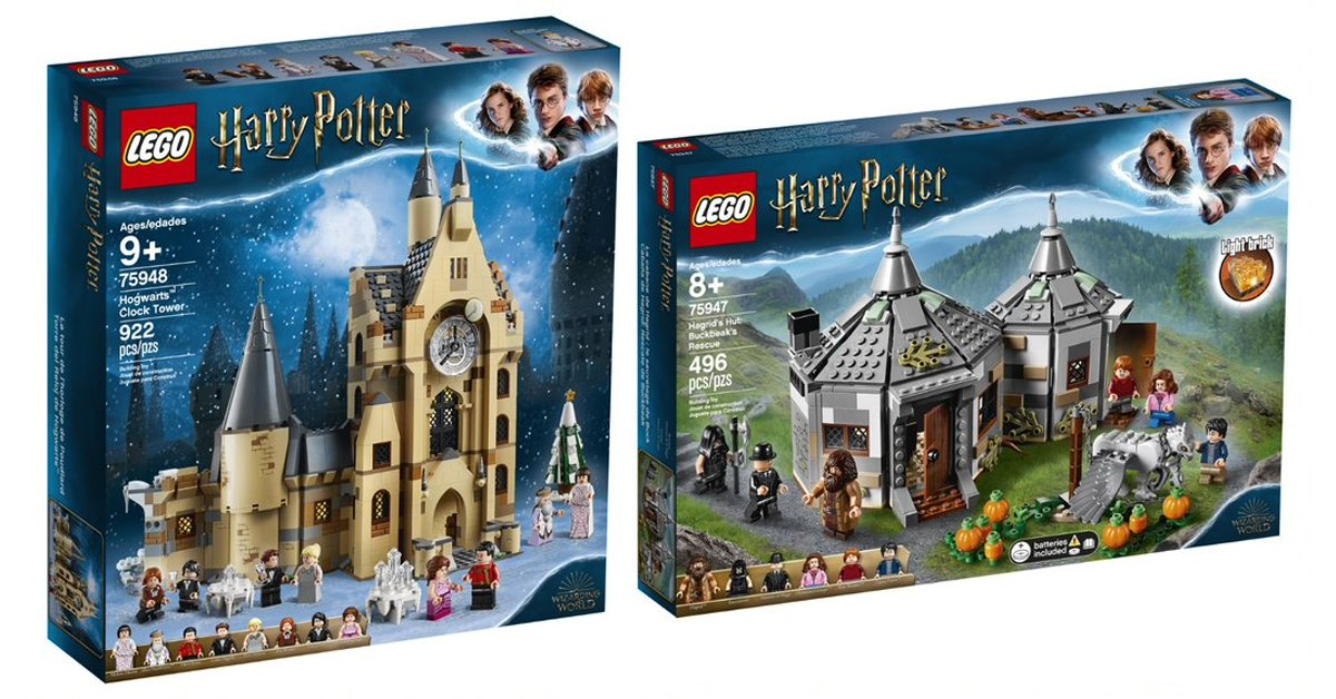 Lego Reveals 5 Nostalgic Harry Potter Building Sets Inspired By