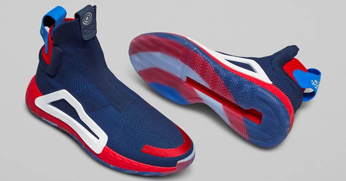 Marvel x adidas N3XT L3V3L Captain America