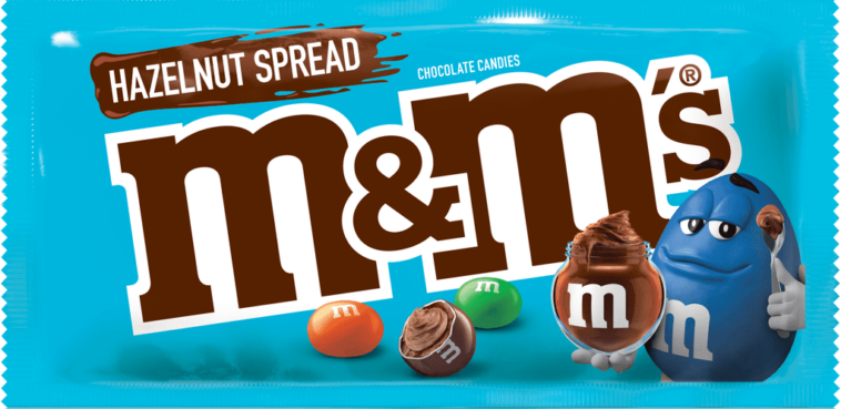Hazelnut Spread M&M's single size