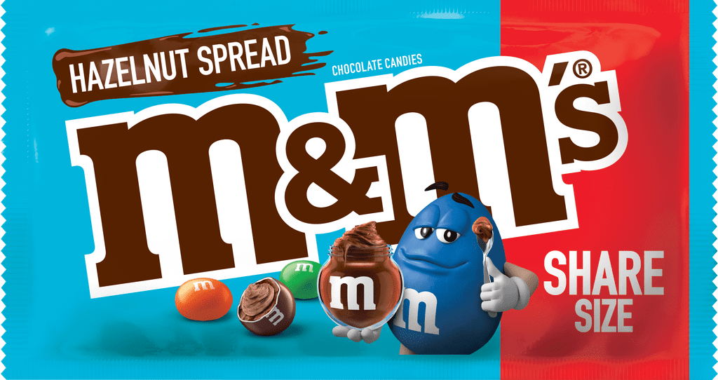 Hazelnut Spread M&M's are hitting the shelves this April 14