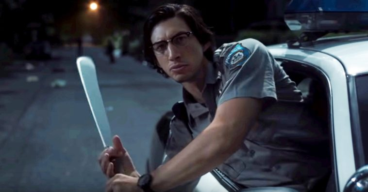 Adam Driver as Officer Ronald Peterson in The Dead Don't Die