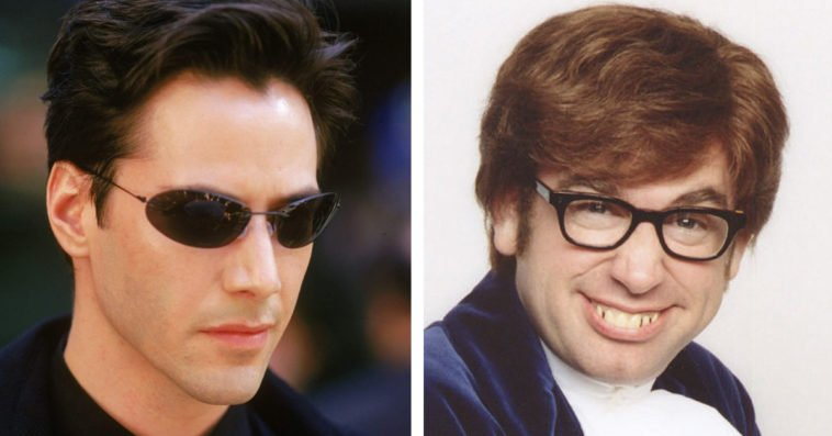 The Matrix and Austin Powers