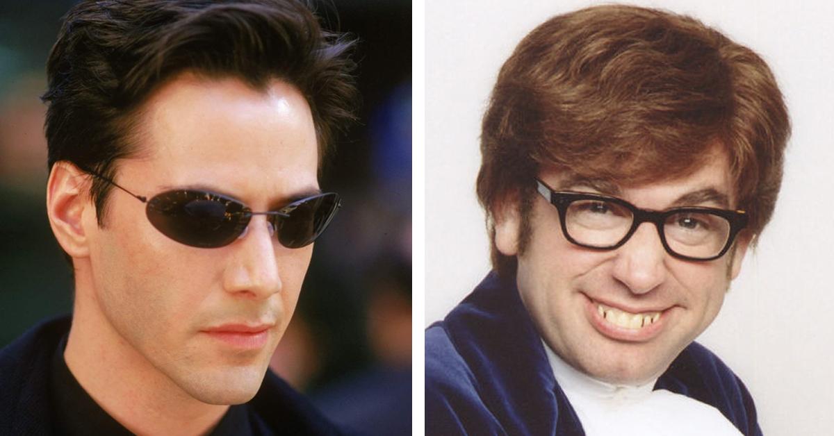 The Matrix and Austin Powers