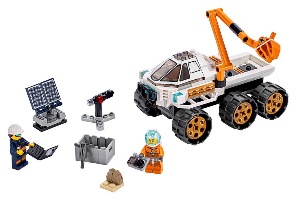 LEGO City Space Rover Testing Drive