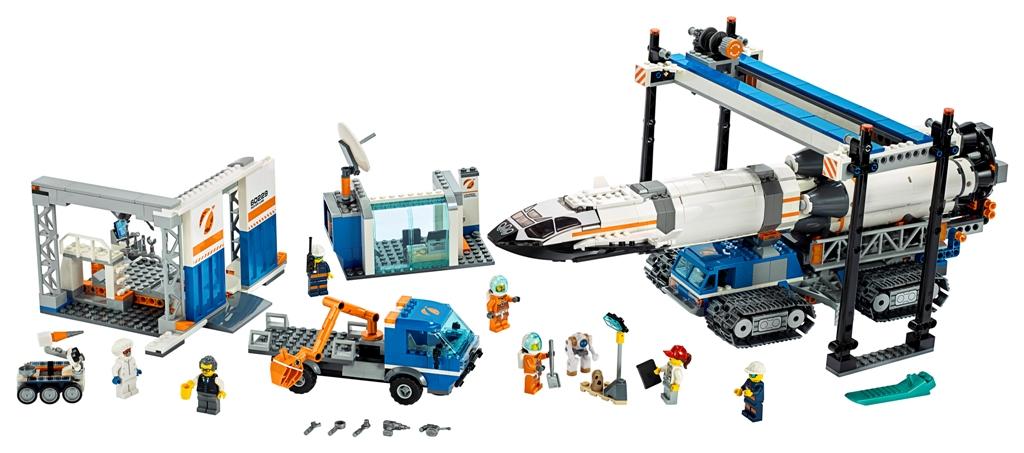 LEGO City Space Rocket Assembly & Transport