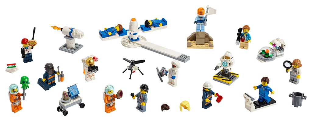 LEGO City Space People Pack – Space Research and Development