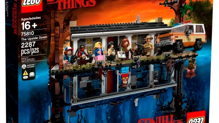 LEGO Stranger Things: The Upside Down box front