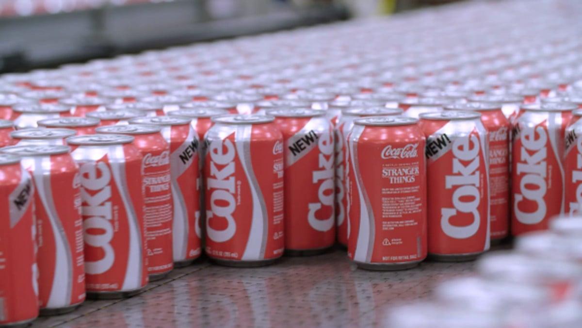 New Coke x Stranger Things