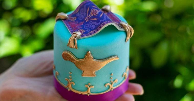 Aladdin-inspired Petit Cake