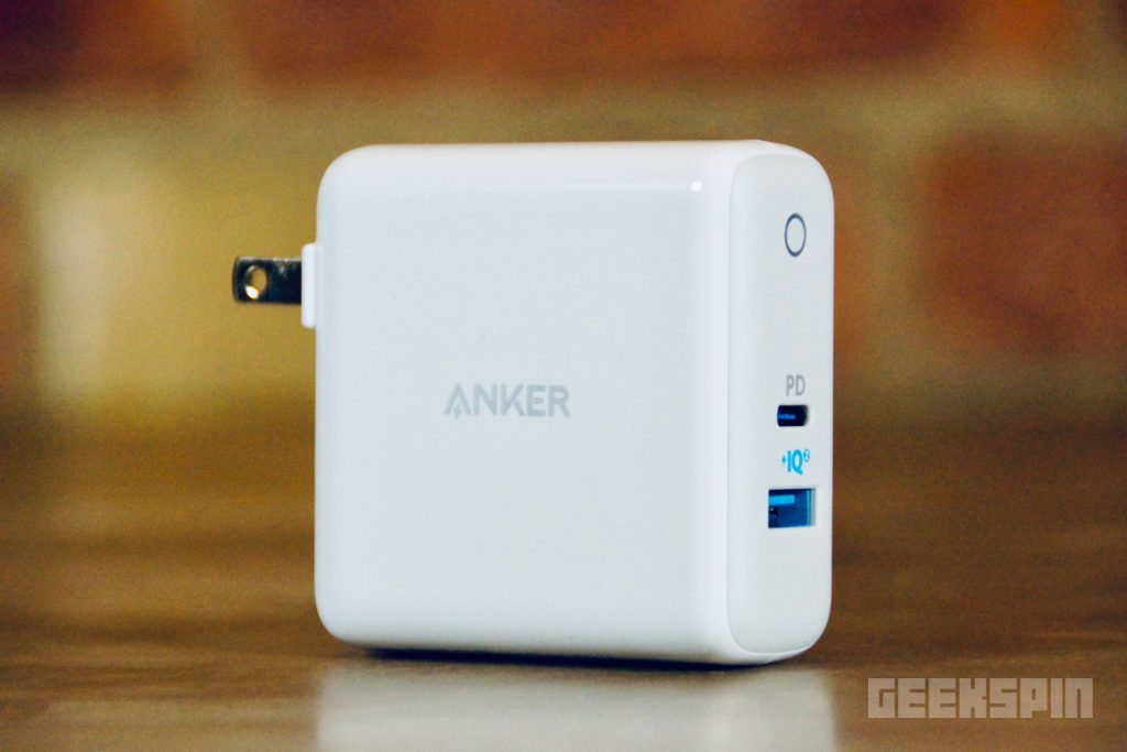 Anker USB C Charger with USB-C to USB Adapter and PowerPort II