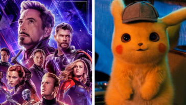 Avengers Endgame and Detective Pikachu